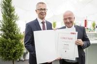 Grass-Werk in Salzburg feiert  50-jähriges Bestehen